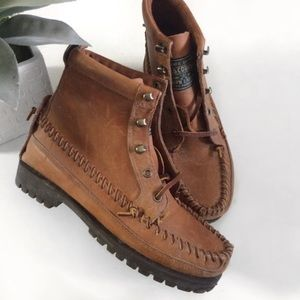 Vintage Ralph Lauren polo country moccasin boots